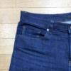 【デニム】UNIQLOのストレッチセルビッチスリムフィットジーンズの穿き込み開始から40