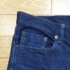 【デニム】UNIQLOのストレッチセルビッチスリムフィットジーンズの穿き込み開始から80