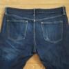 【デニム】UNIQLOのストレッチセルビッチスリムフィットジーンズの穿き込み開始から90