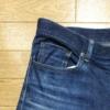 【デニム】UNIQLOのストレッチセルビッチスリムフィットジーンズの穿き込み開始から18