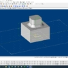 【3DCAD】TopSolid フィレット形状の作成方法(画像20枚使用)